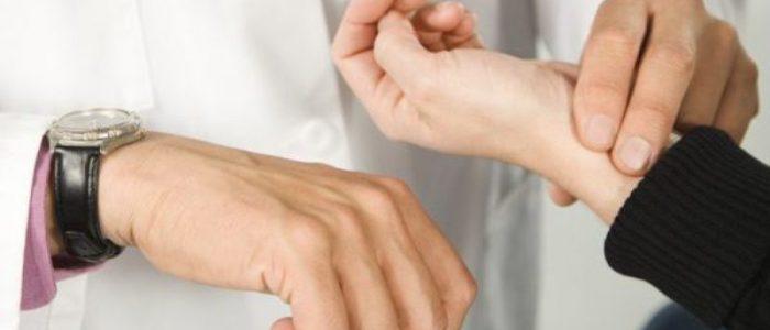 Зависимость пульса от давления