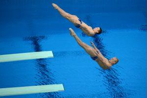 prizhki v vodu - Pressure swimming
