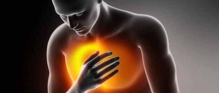Давление при боли в грудине